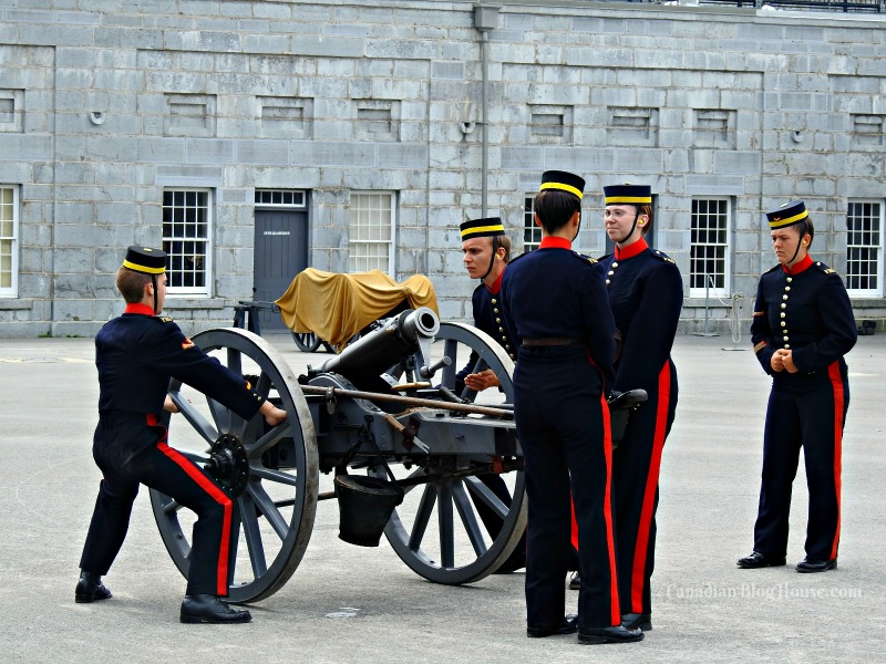 Fort Henry Guard in Historic Downtown Kingston