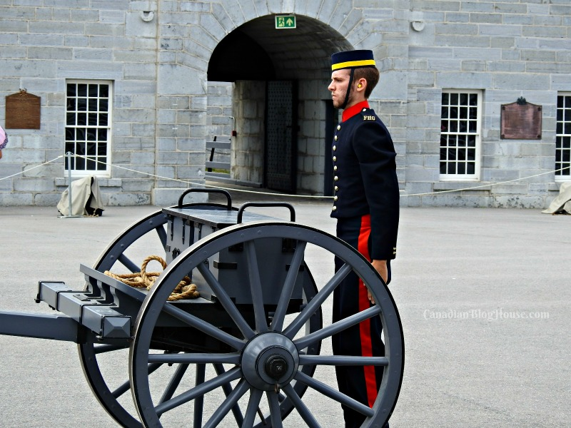 Fort Henry Guardsman in Historic Downtown Kingston