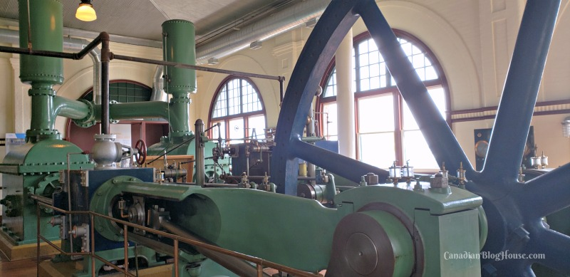 Inside the Pumphouse Steam Museum in Historic Downtown Kingston