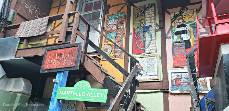 Martello Alley in Historic Downtown Kingston