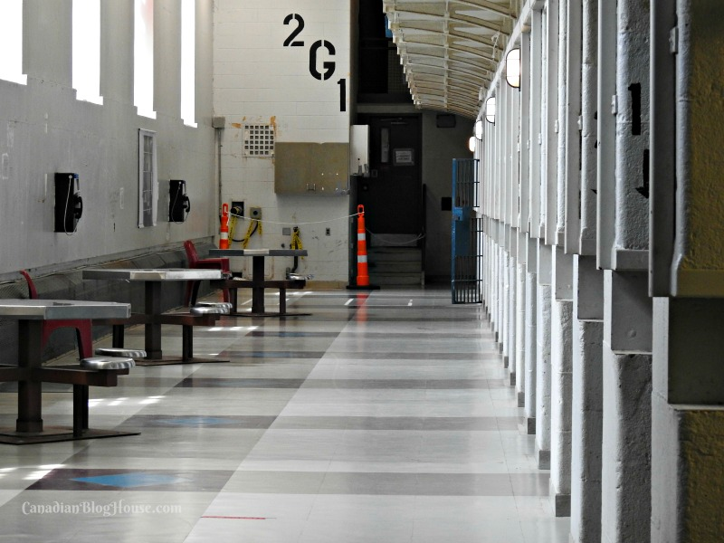 Inmate cells at Kingston Penitentiary in Historic Downtown Kingston