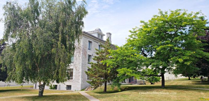 Kingston Penitentiary building in Historic Downtown Kingston