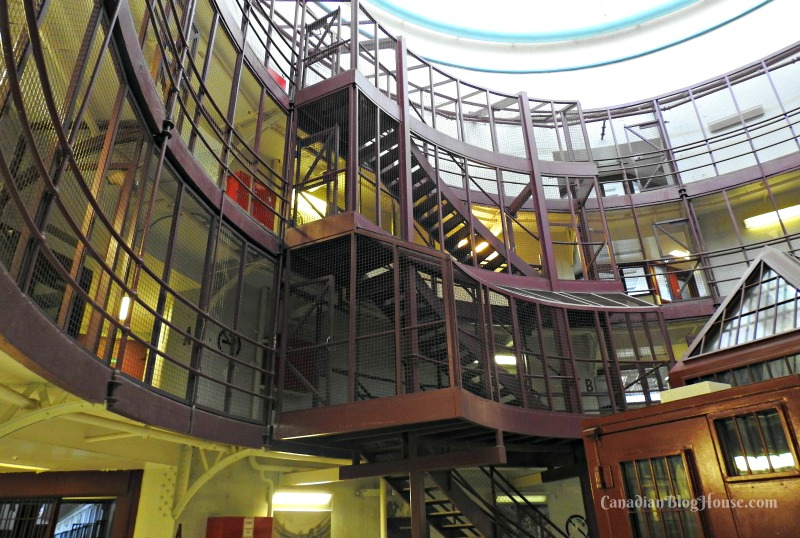 Inside Kingston Penitentiary in Historic Downtown Kingston