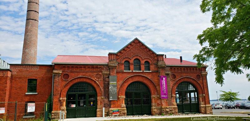 Pumphouse Steam Museum in Historic Downtown Kingston