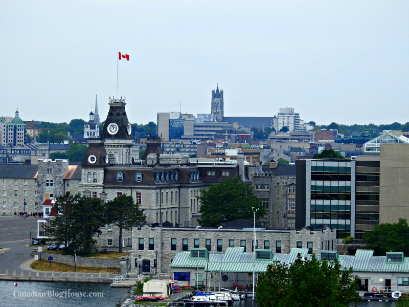 View of RMC in Historic Downtown Kingston
