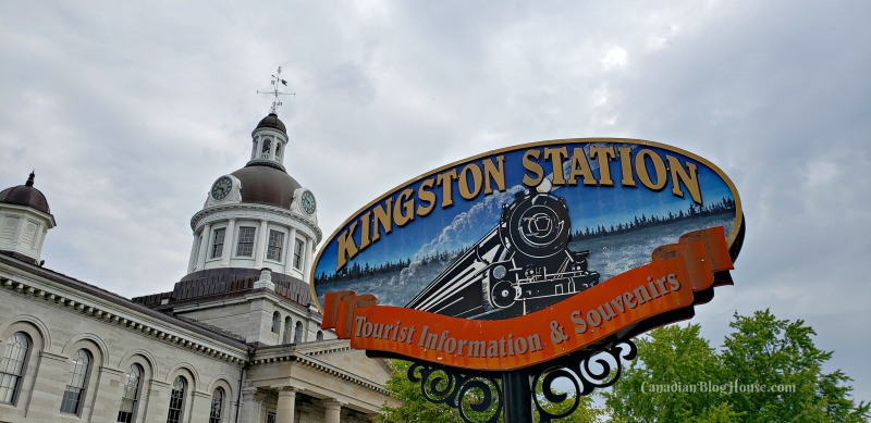 Kingston Station sign in Historic Downtown Kingston