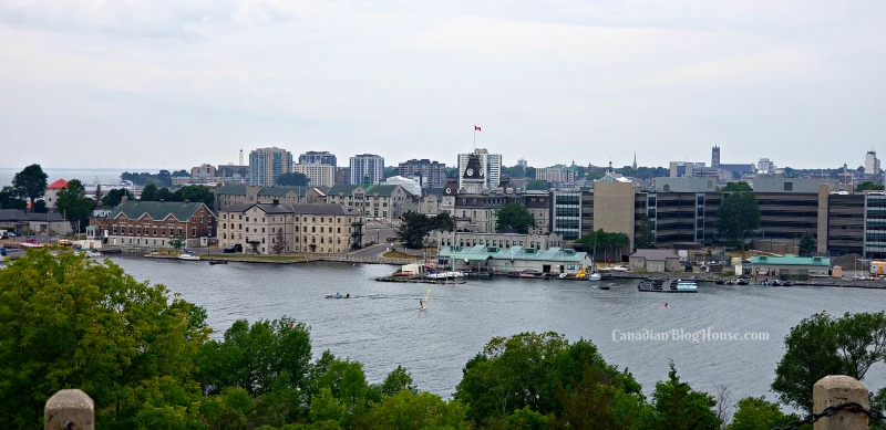 View of Historic Downtown Kingston from Fort Henry