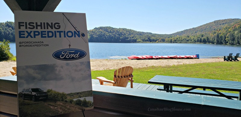 Ford Fishing Great Expedition Signage