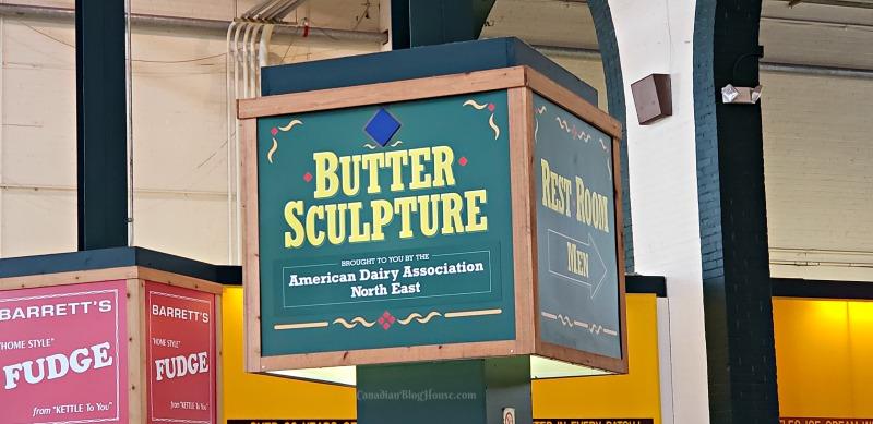 The Great New York State Fair Butter Sculpture