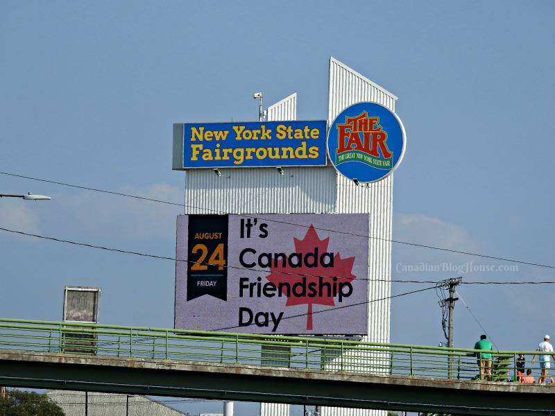 The Great New York State Fair Canadian Friendship Day