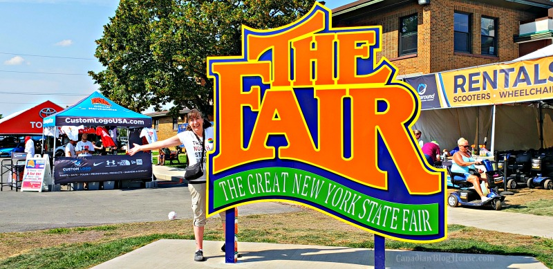 The Great New York State Fair Sign