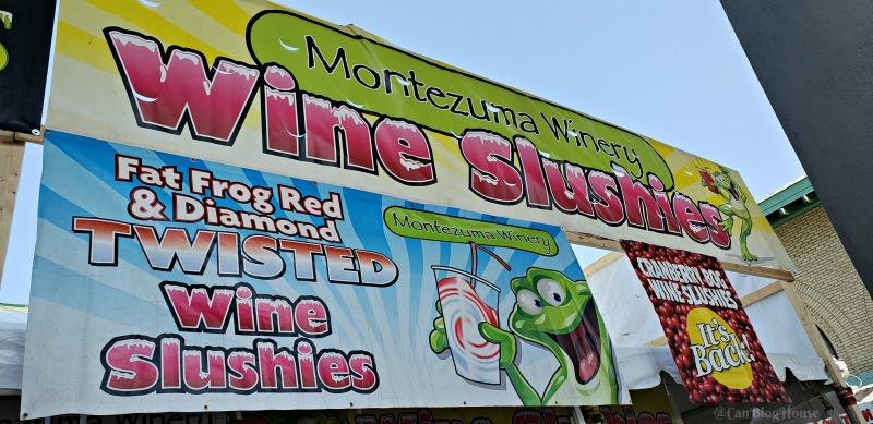 Montezuma Winery Wine Slushie at The Great New York State Fair