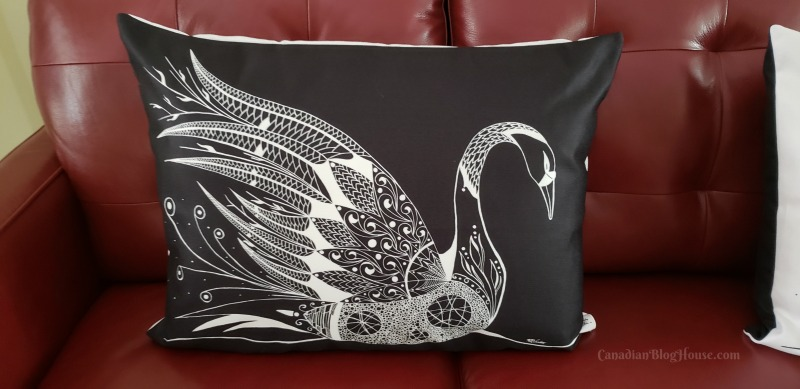 Healing-Helen Decorative Pillows made in Canada