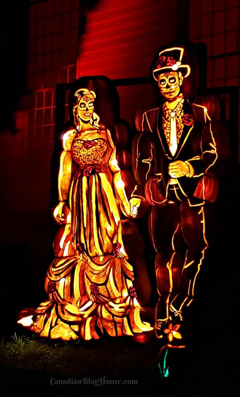 Pumpkinferno Handcrafted Pumpkins Couple