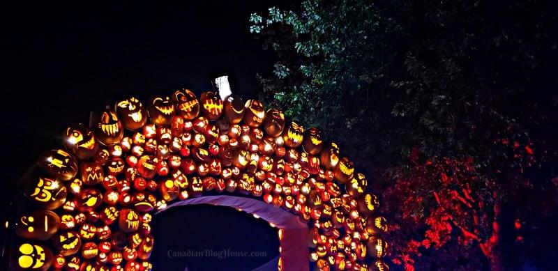 Pumpkinferno Handcrafted Pumpkins Pumpkin arch