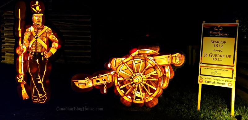 Pumpkinferno Handcrafted Pumpkins Soldier