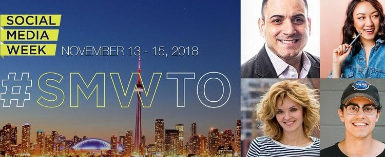 Join Me And WIN A VIP All Access Pass To Social Media Week Toronto November 13th-15th