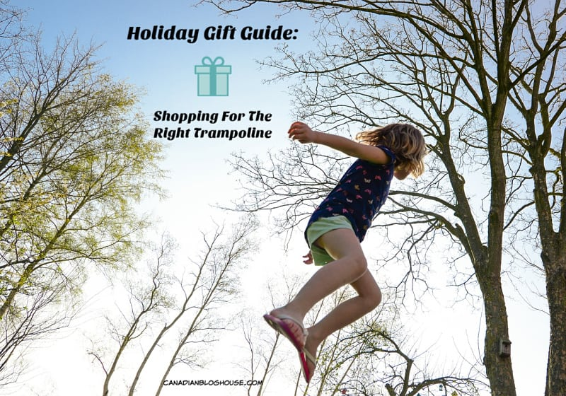 researching and purchasing the right trampoline for your family