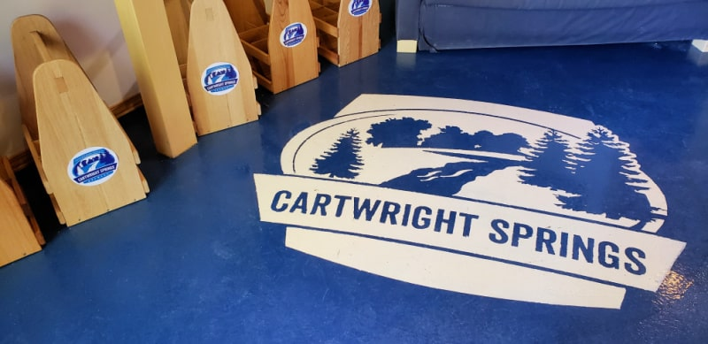 behind-the-scenes tours Cartwright Springs Brewery