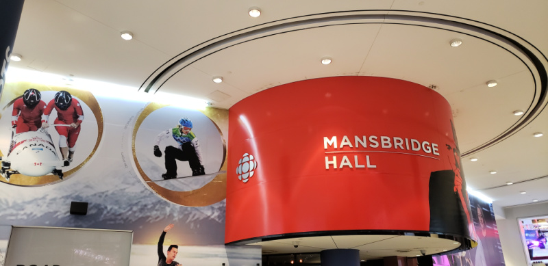 CBC Building Peter Mansbridge Hall Toronto Canada's Downtown