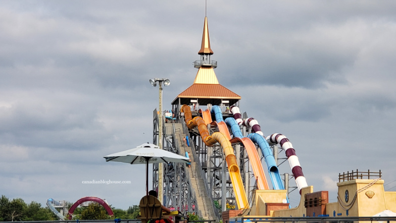 Calypso Waterpark Ottawa by car