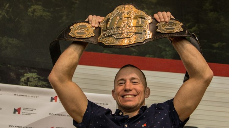 Mixed Martial Arts legend Georges St-Pierre