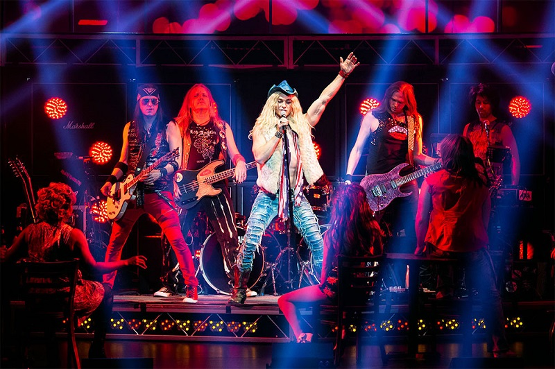 ROCK OF AGES rocks Ottawa on stage