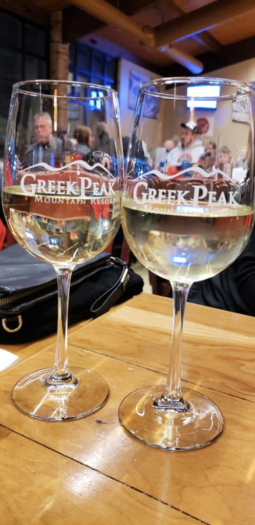Epic Experiences In Cortland New York Greek Peak Mountain Resort Wine Glasses
