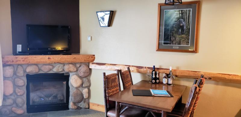 Epic Experiences In Cortland New York Greek Peak Mountain Resort Suite Fireplace
