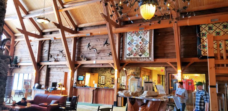 Epic Experiences In Cortland New York Greek Peak Mountain Resort Lobby