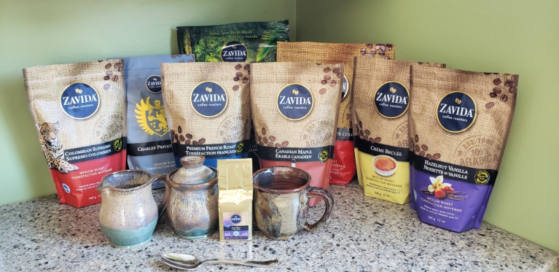 Love Zavida Coffee variety of choices