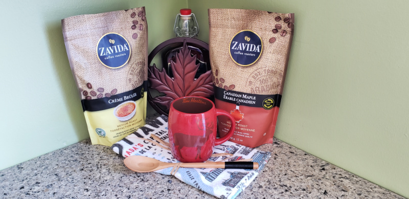 Love Zavida Coffee Canadian varieties