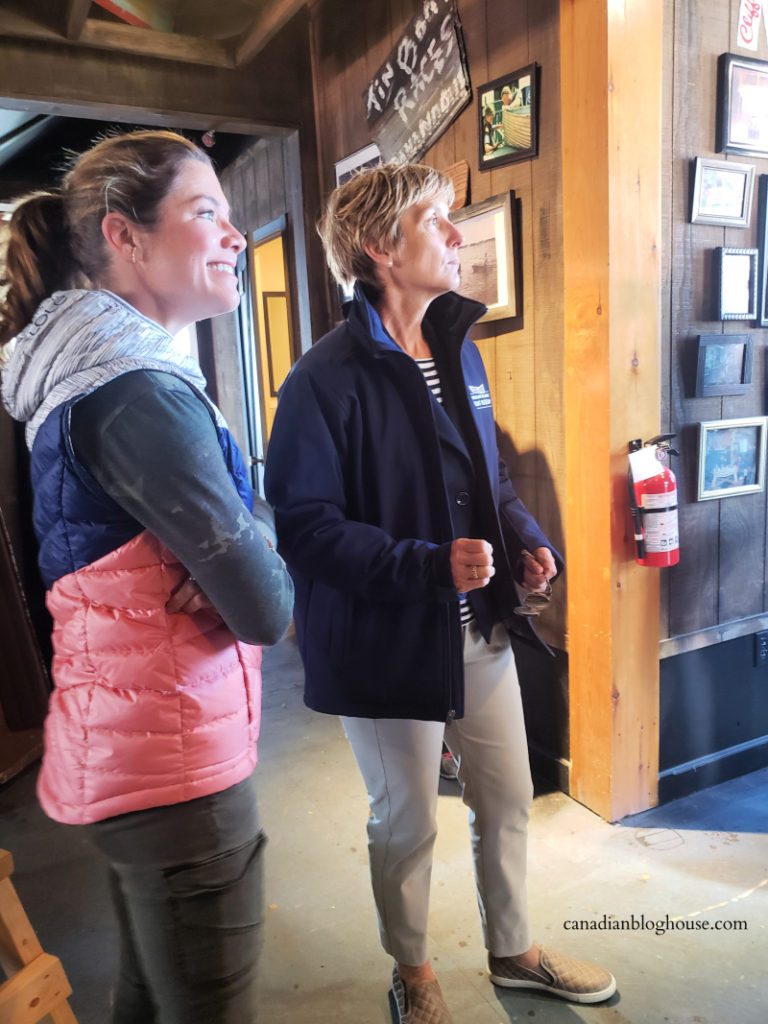 Sophie Grégoire Trudeau at the Thousand Islands Boat Museum