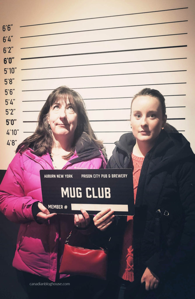 Tour Cayuga County Prison City Brewery Mug Club