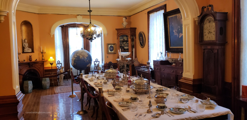 Tour Cayuga County - Seward House Dining Room