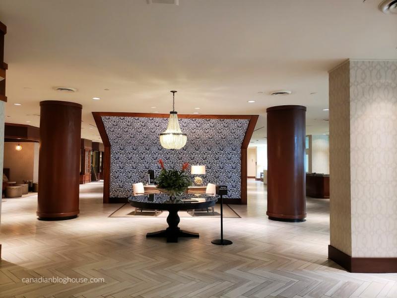 Lobby of the Omni Corpus Christi Hotel