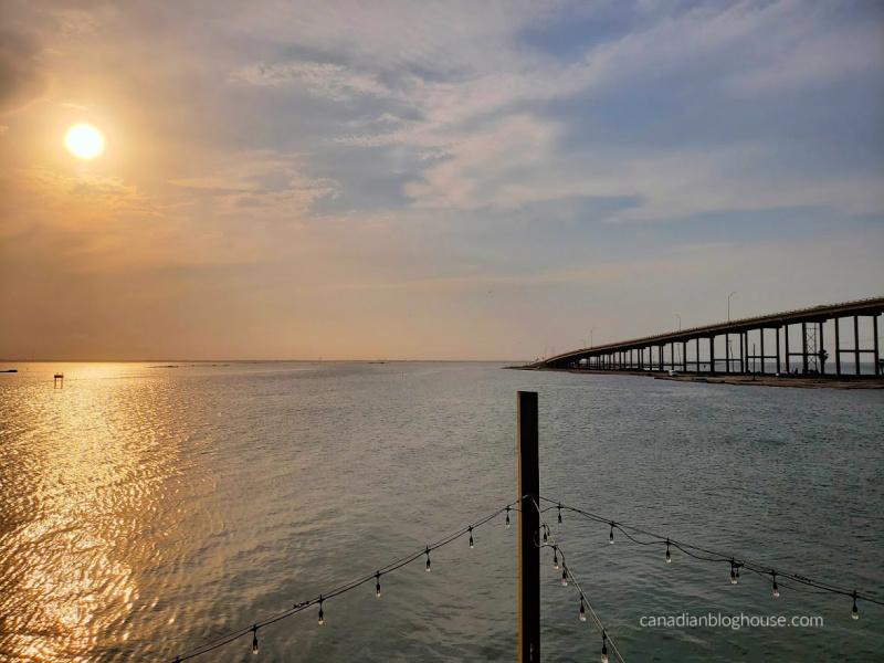 Corpus Christi sunset from Padre Island