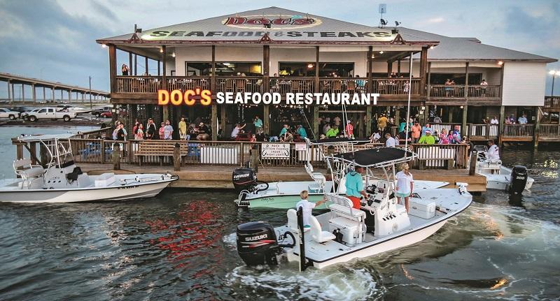 Docs Seafood and Steaks, Corpus Christi Texas