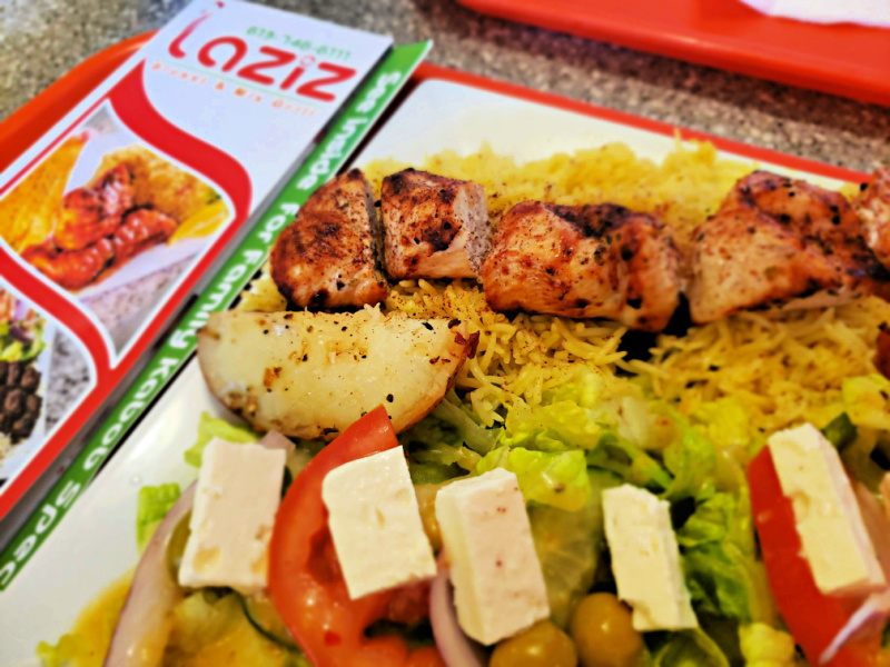 Ottawa Strip Malls Laziz Broast & Mix Grill's Greek Chicken