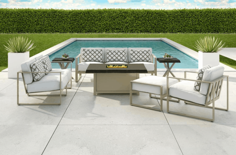 vacation in your own backyard with beautiful patio furniture