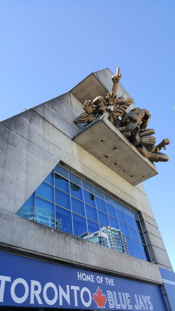 Toronto Blue Jays Statue