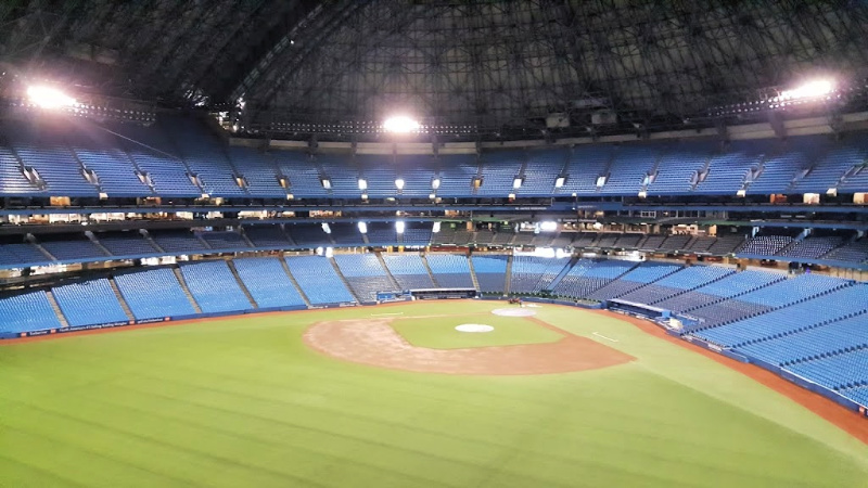 Inside Toronto's Rogers Centre