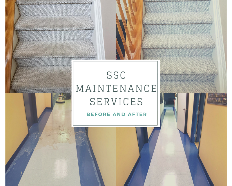 SSC Maintenance Services professional home cleaners Ottawa